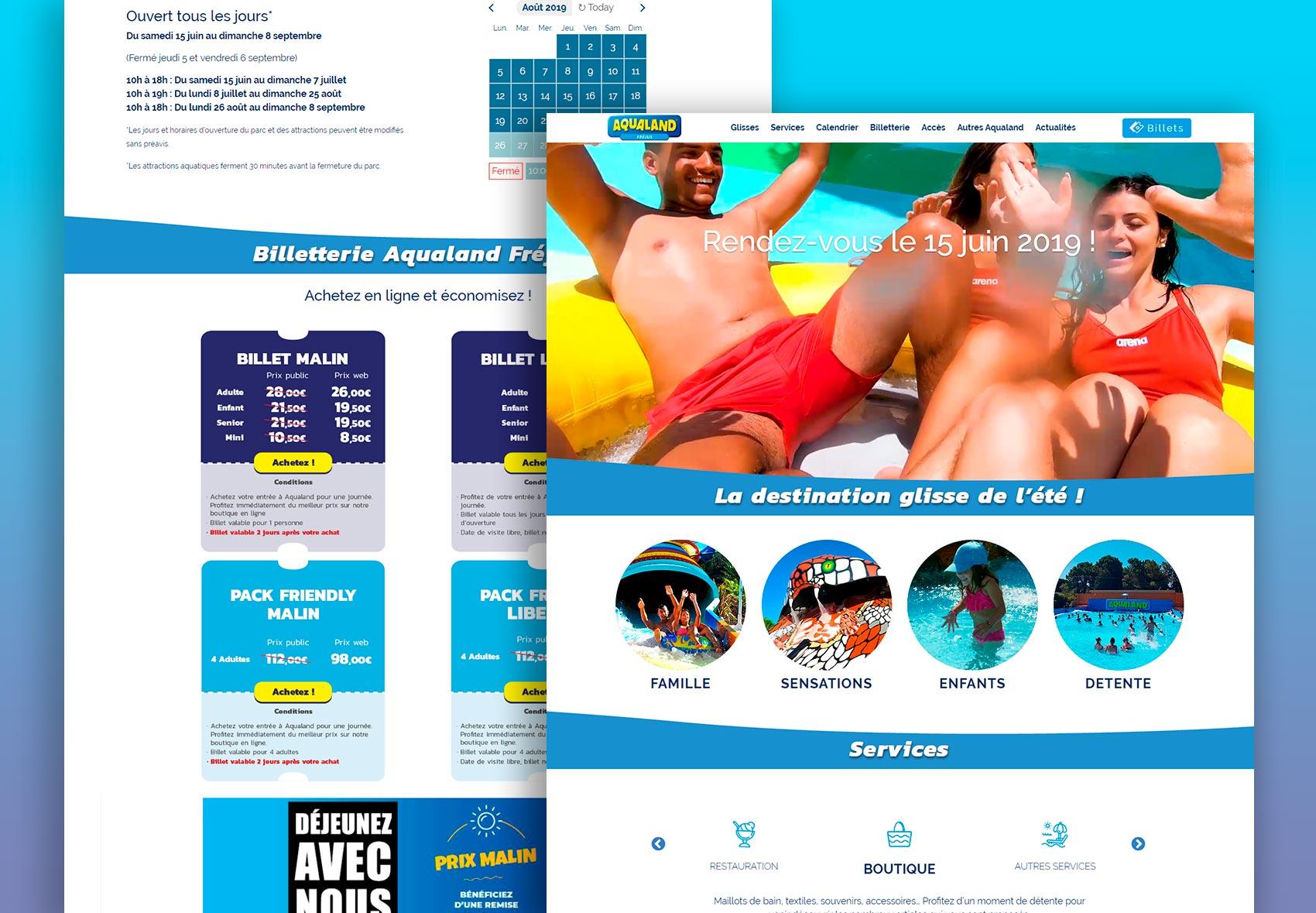 nuevo diseño aqualand francia